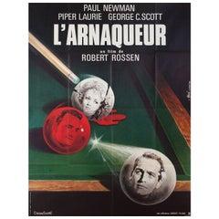 The Hustler R1982 French Grande Film Poster