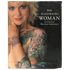 """The Illustrated Woman"" Hardcover Book by William Demichele 1993"