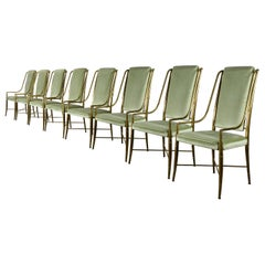"""""""The Imperial Chair"""" Set of Eight by Weiman/Warren Lloyd for Mastercraft, 1970s"""