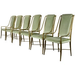 """""""The Imperial Chair"""" Set of Six by Weiman/Warren Lloyd for Mastercraft, 1970s"""
