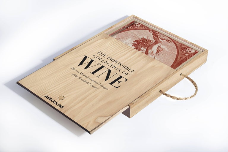 In this stunning new addition to the Assouline Ultimate Collection, Enrico Bernardo, the world's best sommelier, imagines the perfect cellar filled with the most exceptional wines of the twentieth century: The Impossible Collection of Wine. Weighing