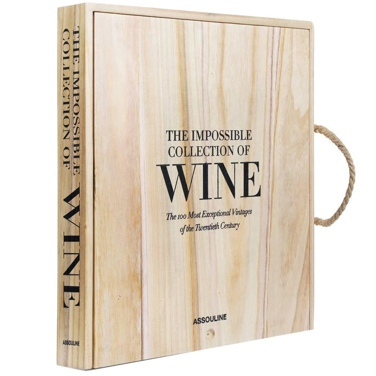 """""""The Impossible Collection of Wine"""" Book For Sale"""