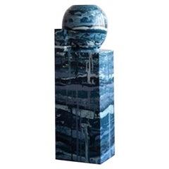 Inside II 'Blue' Sculpture by Hilda Hellström