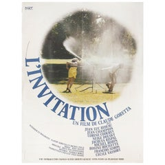 The Invitation 1973 French Grande Film Poster