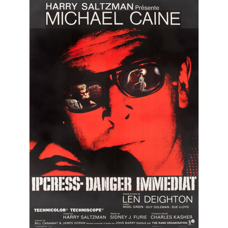 The Ipcress File Original French Film Poster