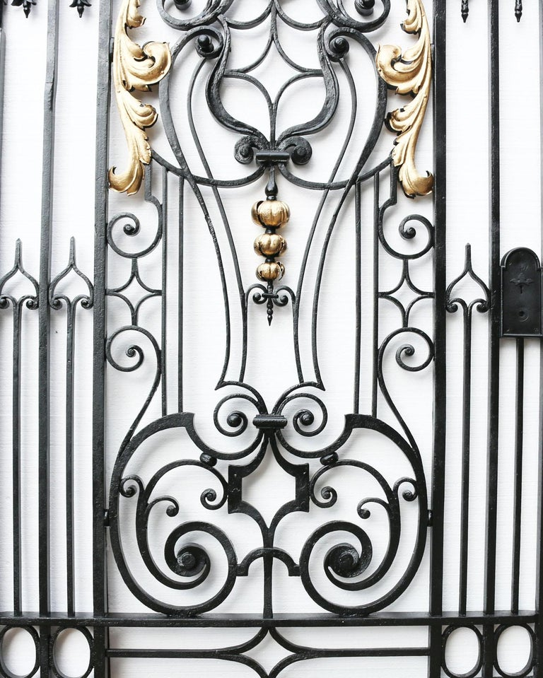This stunning antique pedestrian gate comes from Islet Park near Reading, England, circa 1860. 