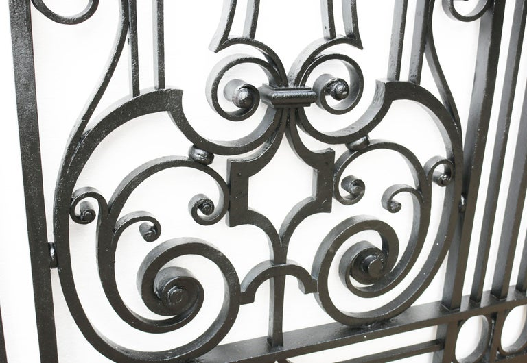 Wrought Iron The Islet Park Gate For Sale