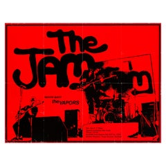 The Jam Original Vintage UK Concert Poster, 1979