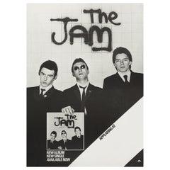 The Jam Original Vintage UK Tour Poster, 1977