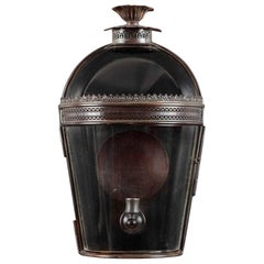 Jamb Medium Hyde Glazed Wall Lantern Sconce Lighting