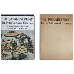 """Japanese Print Its Evolution and Essence"" Book by Muneshige Narazaki"