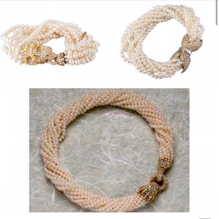 The Jeane Vanderbilt Lion Bracelet by Van Cleef Arpels For Sale 12