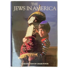 The Jews In America by David Cohen Coffee Table Book