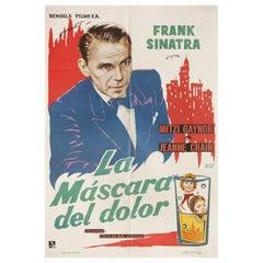 The Joker Is Wild 1962 Spanish One Sheet Film Poster