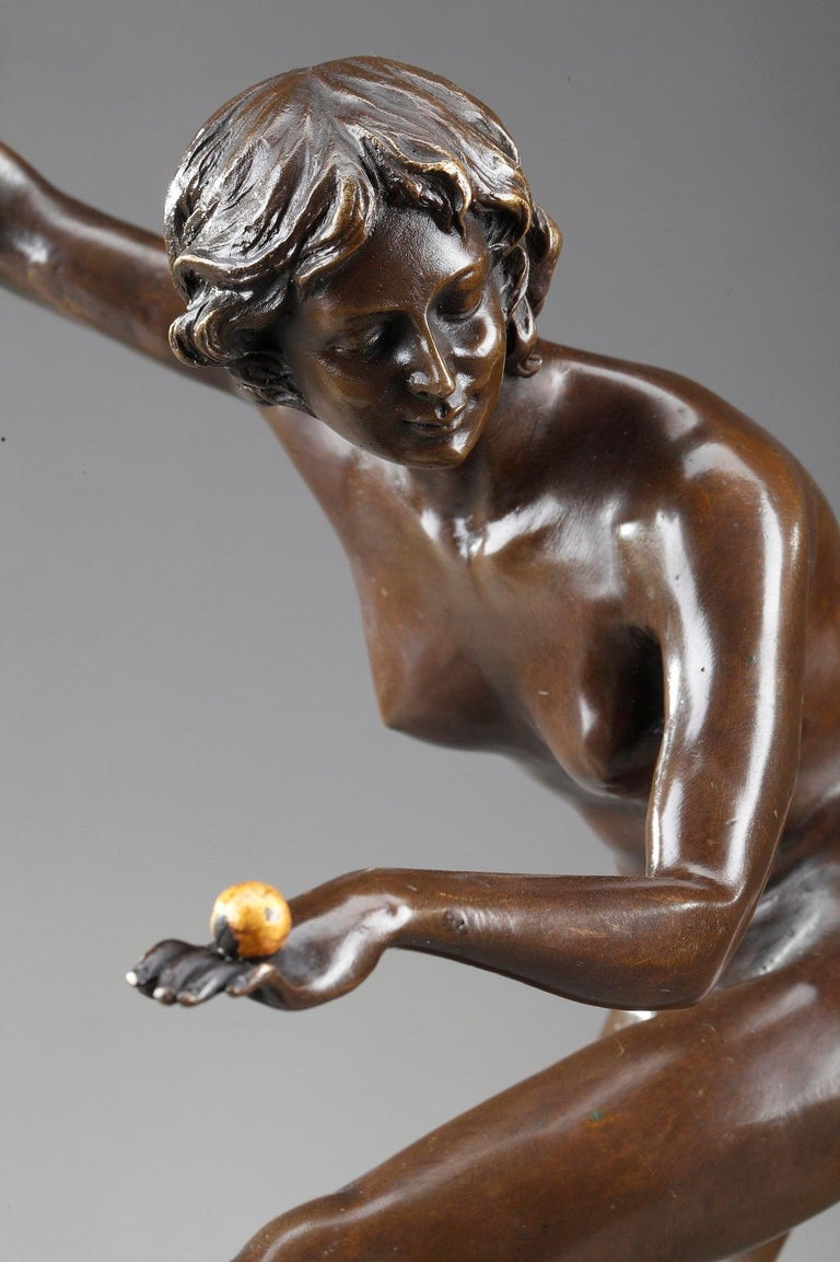 Art Deco Juggler by Claire Colinet '1880-1950' For Sale