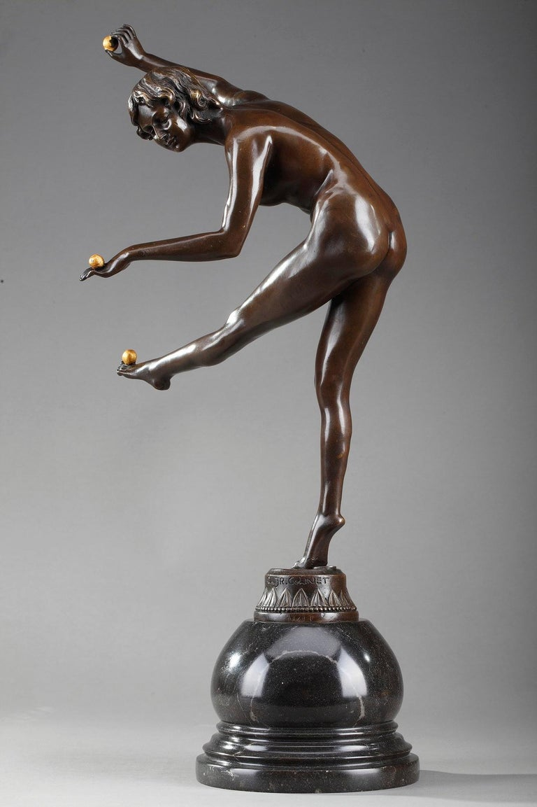 French Juggler by Claire Colinet '1880-1950' For Sale