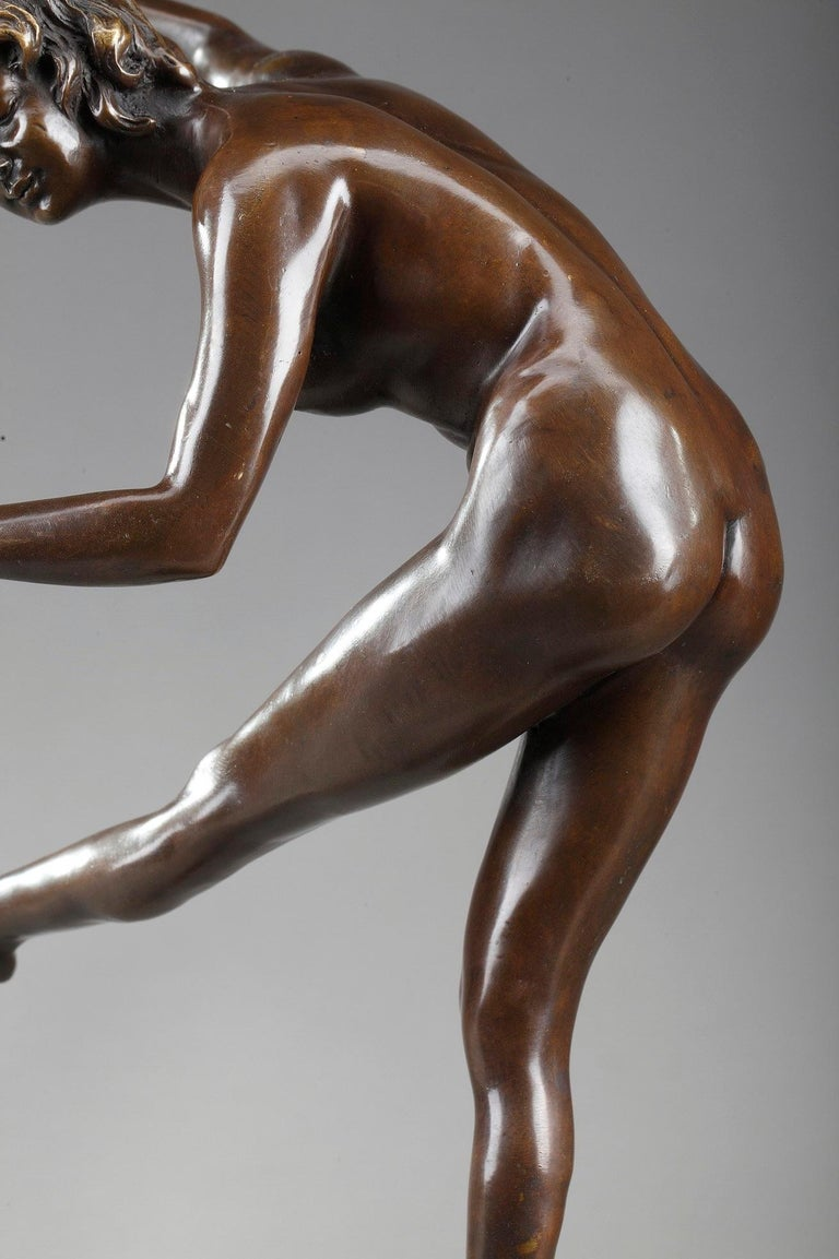 Patinated Juggler by Claire Colinet '1880-1950' For Sale