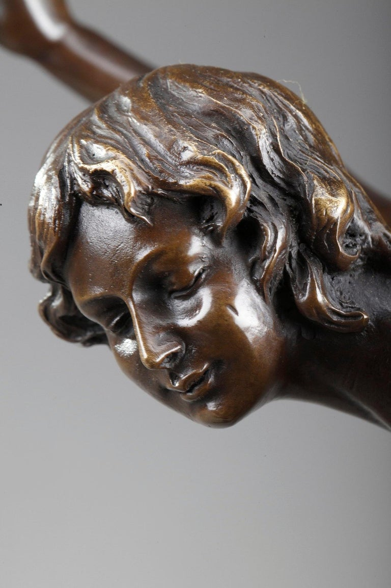 Bronze Juggler by Claire Colinet '1880-1950' For Sale