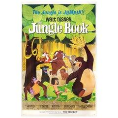 The Jungle Book 1967 U.S. One Sheet Film Poster
