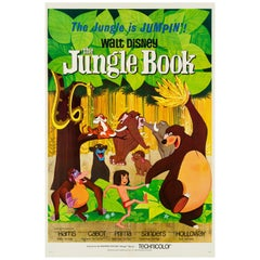 'The Jungle Book' Original Vintage Movie Poster, American, 1967