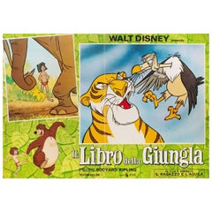 The Jungle Book R1970s Italian Fotobusta Film Poster