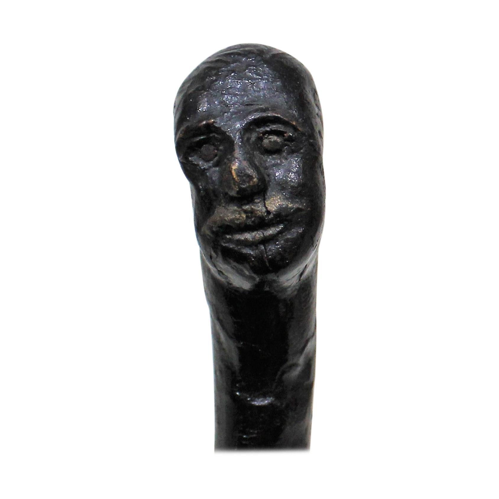 """The Kent Regiment"" Folk Art Walking Stick Cane"