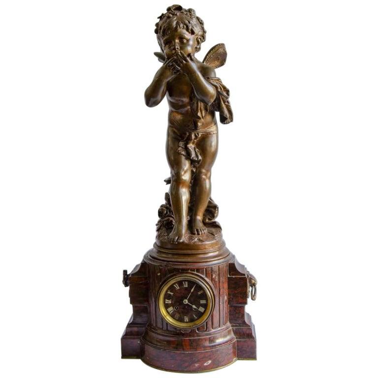 The Kiss Aguste Moreau, Bronze For Sale