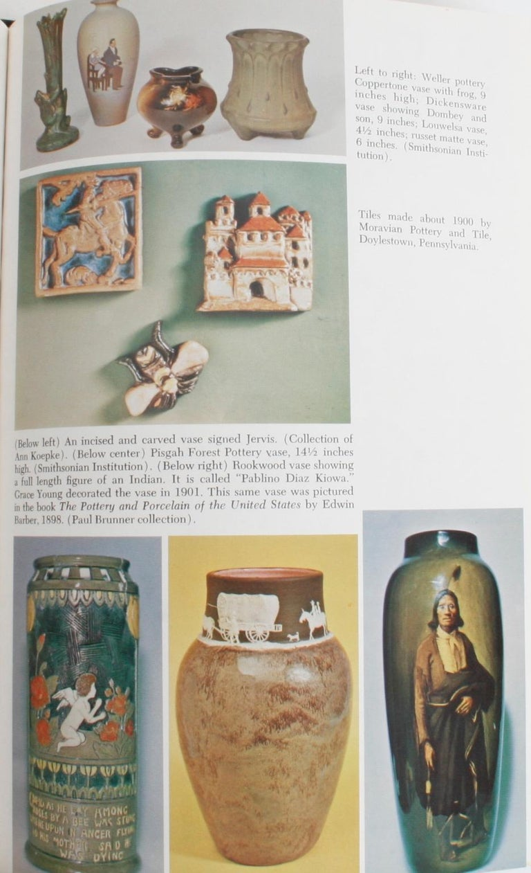 20th Century The Kovel's Collector's Guide to American Art Pottery For Sale
