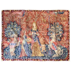 """""""The Lady and the Unicorn"""" Flanders Tapestry in Style"""