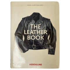 The Leather Book by Anne-Laure Quilleriet Table Book by Assouline