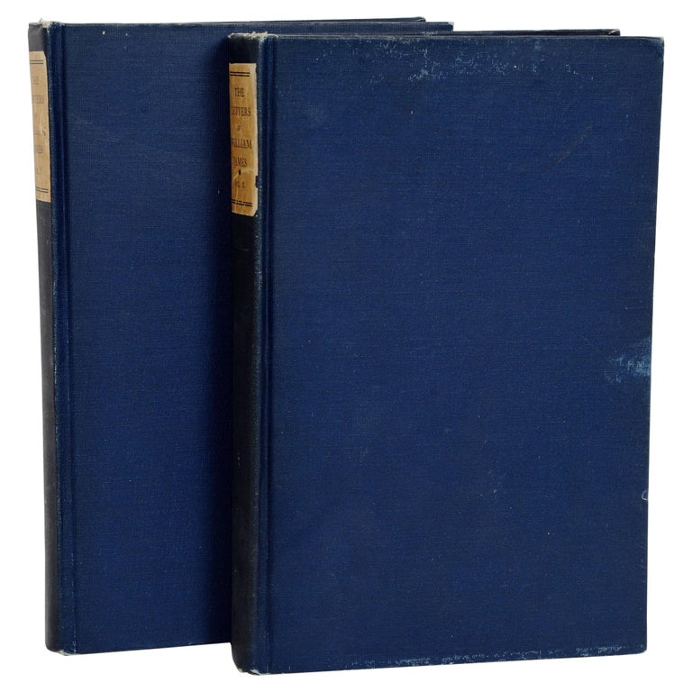 The Letters of William James, 2 Volumes Edited by His Son Henry James circa 1920 For Sale