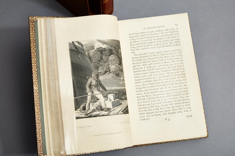 The Life and Strange Surprising Adventures Of Robinson Crusoe In Good Condition In New York, NY