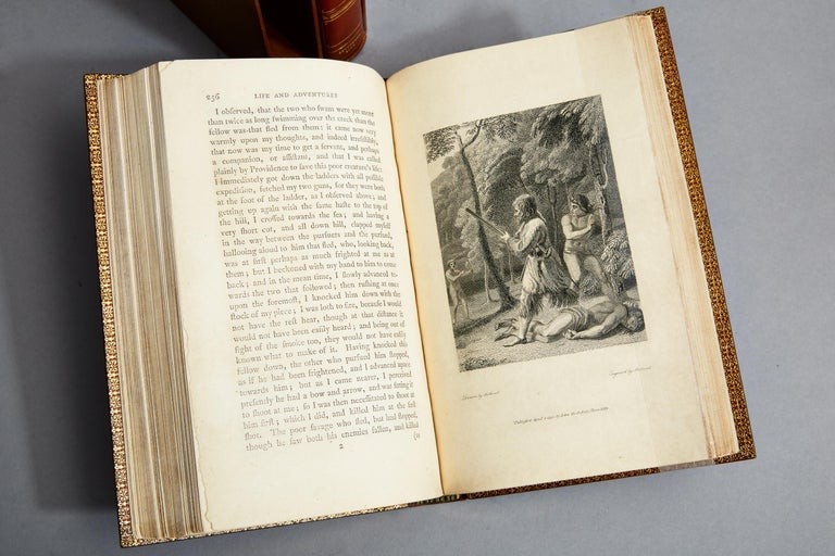 Late 18th Century The Life and Strange Surprising Adventures Of Robinson Crusoe