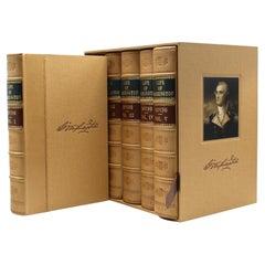The Life of George Washington by Washington Irving, Five Volumes, 1856-1859