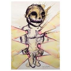 The Light Bulb Man by Bjarne Melgaard