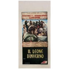 The Lion in Winter 1968 Italian Locandina Film Poster