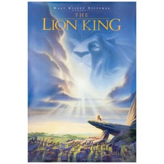 The Lion King 1994 U.S. One Sheet Film Poster