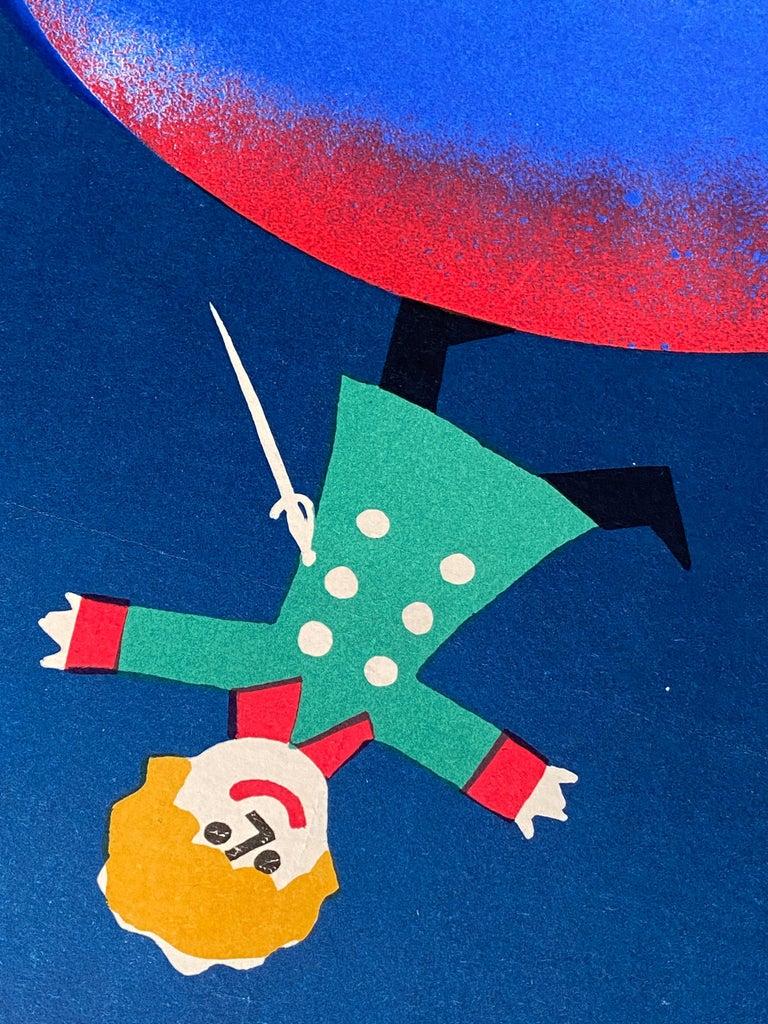 Mid-Century Modern 'The Little Prince' Original Vintage Polish Film Poster by Jerzy Flisak, 1977 For Sale
