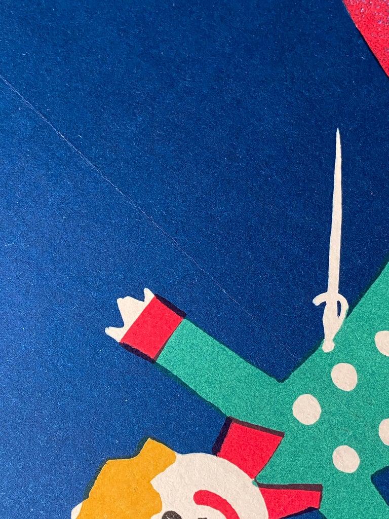 Paper 'The Little Prince' Original Vintage Polish Film Poster by Jerzy Flisak, 1977 For Sale