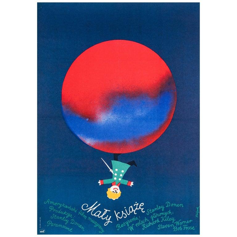 'The Little Prince' Original Vintage Polish Film Poster by Jerzy Flisak, 1977 For Sale