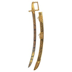 The Lloyd's Patriotic Fund £100 Trafalgar Sword awarded to JOHN PILFORD ESQ CAPT