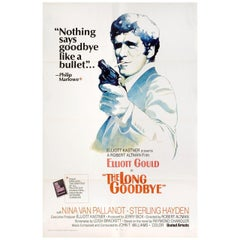 The Long Goodbye 1973 U.S. One Sheet Film Poster