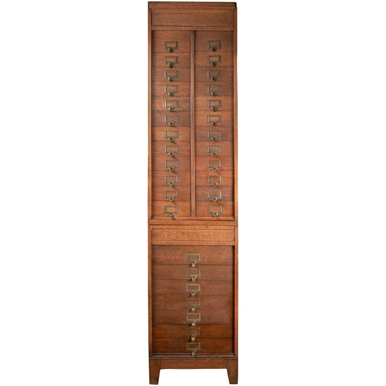 The M. Ohmer's Sons Co. [Dayton, OH] Oak Cabinet File For