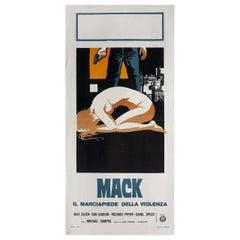 """Mack"" 1974 Italian Locandina Film Poster"