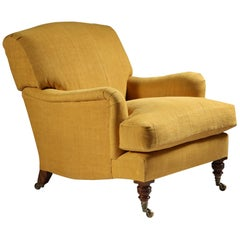 The Maddox Easy Chair, Modelled on a Howard and Sons Armchair, Upholstered