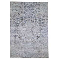 The Maharaja Pure Silk with Oxidized Wool Hand Knotted Oriental Rug