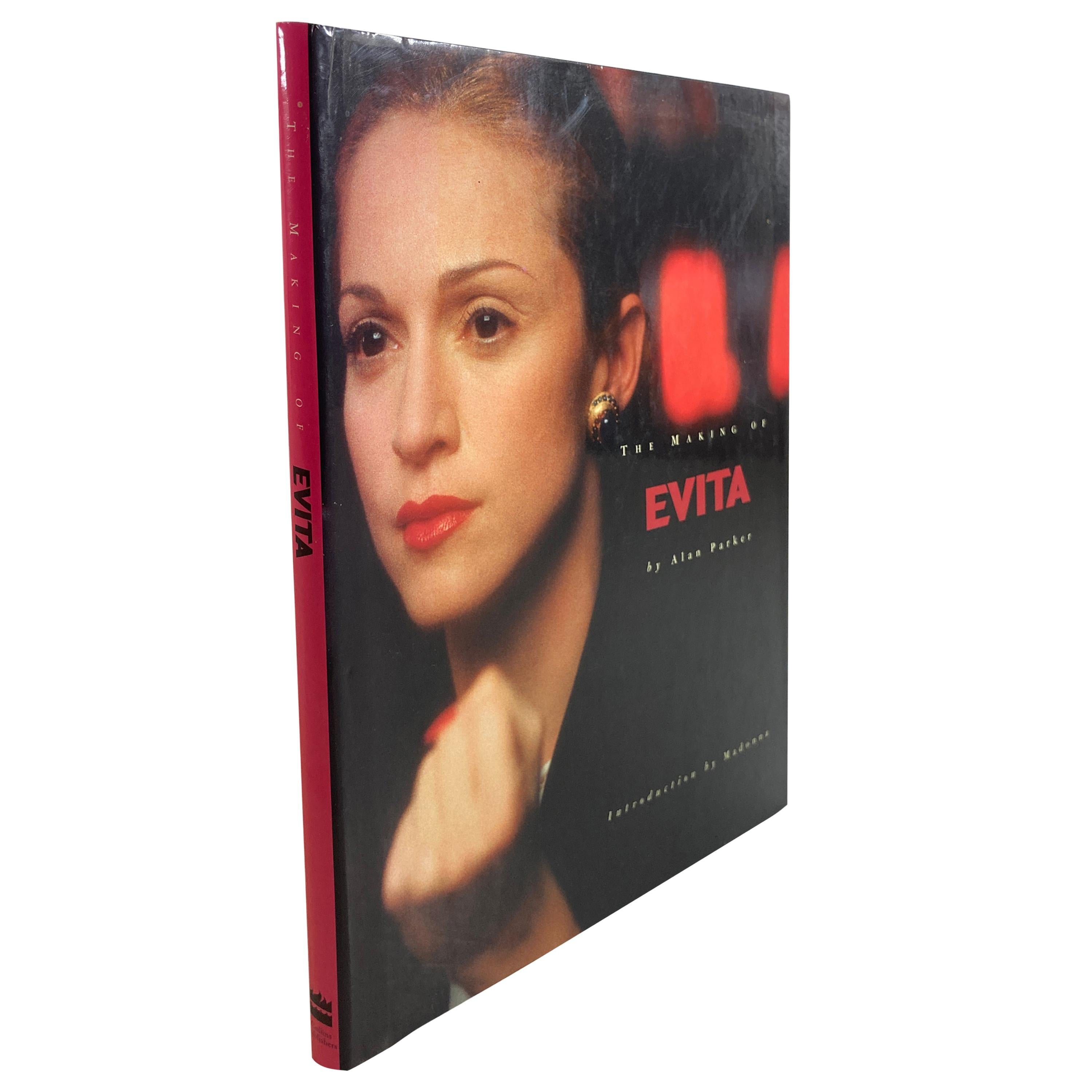 """""""The Making of Evita Book by Alan Parker"""" Coffee Table Book"""