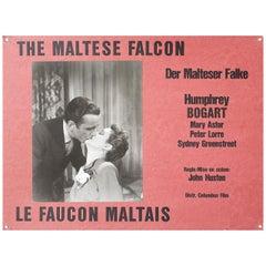 The Maltese Falcon 1970s Swiss Scene Card