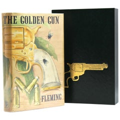 The Man with the Golden Gun First Edition by Ian Fleming in Original Dust Jacket