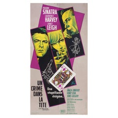 The Manchurian Candidate 1962 French Insert Film Poster